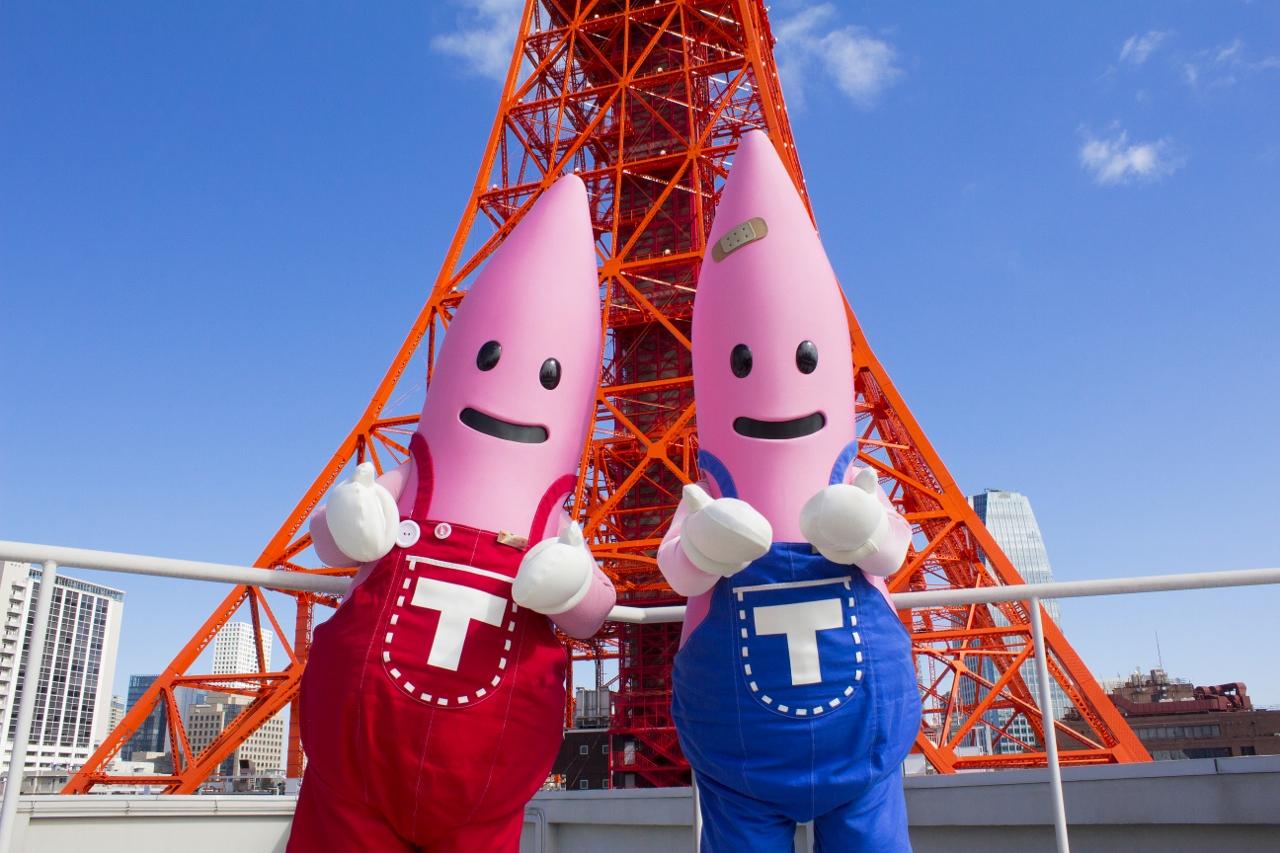 """東京タワー公式キャラクター""""ノ..."""