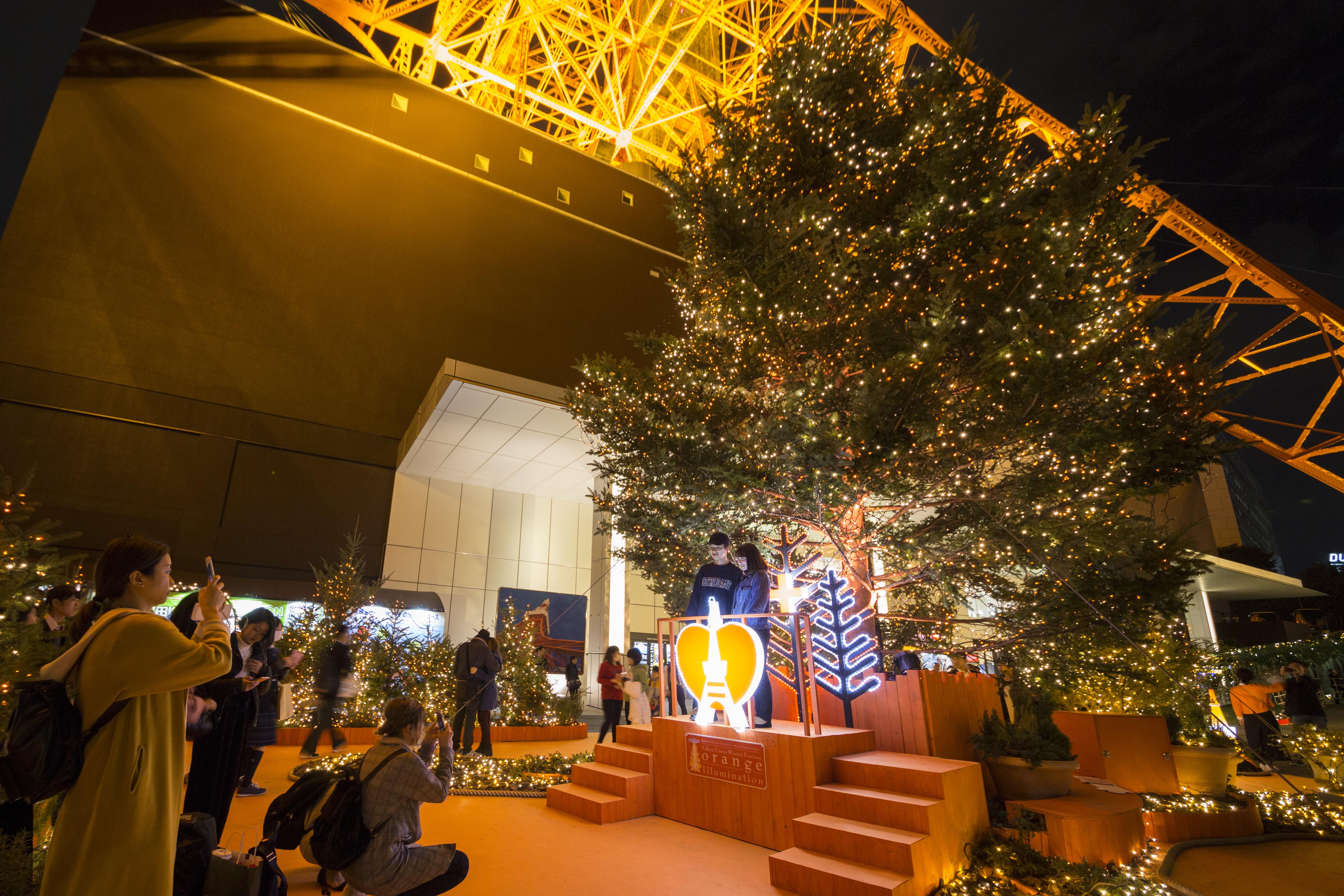 東京タワー ウィンターファンタジー ~オレンジ・イルミネーション~